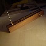Home made rosette cutter